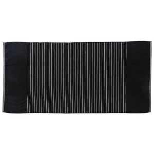 Reversible Two Tone Towel CAM140 Black