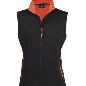 Rosewall Soft Shell Vest Mens JK45 Orange
