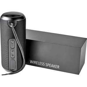 Rugged Fabric Waterproof Speaker 7778BK Black