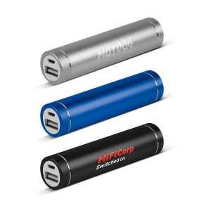 Sabre Power Bank 2200 mAh CA115587 Black Blue Silver