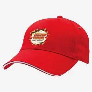 Sandwich Peak Caps 4289 Red
