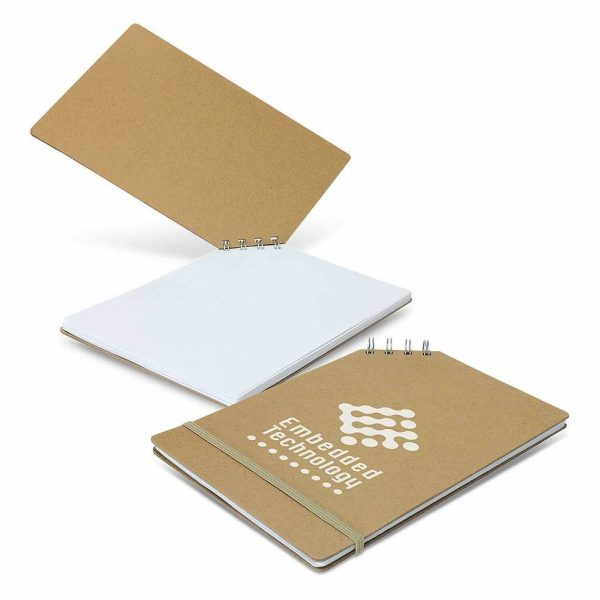 Scandi Note Pad 113956 Natural Open 1