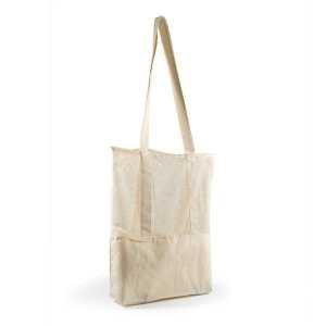 Scoot Calico Mesh Tote Bag LL528 Cream