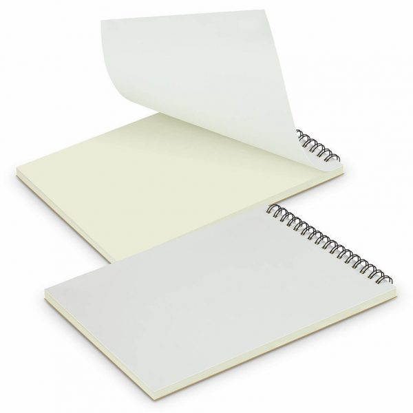 Scribe Full Colour Note Pad 118179 White With No Branding