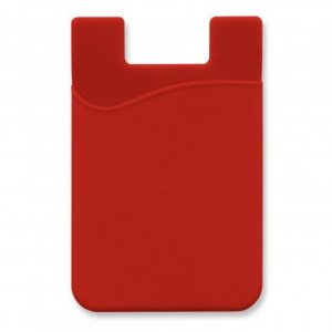 Silicone Phone Wallet CA112928 Red