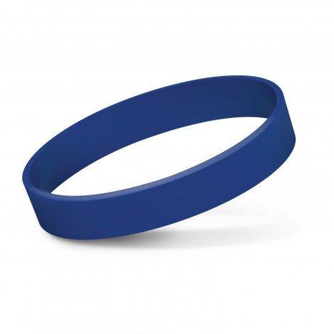 Silicone Wrist Band Debossed CA112805 Dark Blue