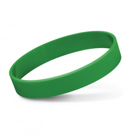 Silicone Wrist Band Debossed CA112805 Green
