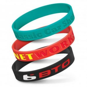 Silicone Wrist Band Debossed CA112805 Various