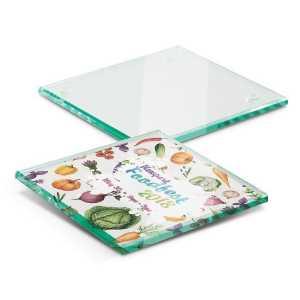 Single Glass Coaster CA110864 Full Colour Branded