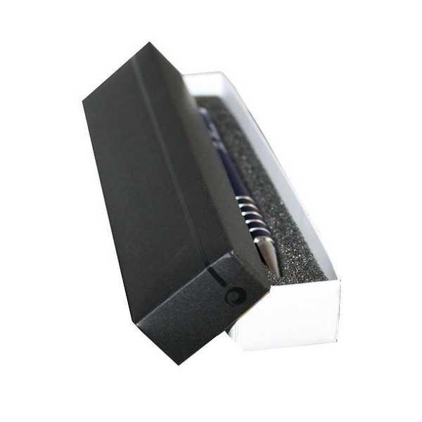 Single Pen Box 678BK Black White