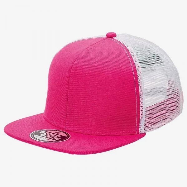 Snapback Trucker 4390 Hot Pink White