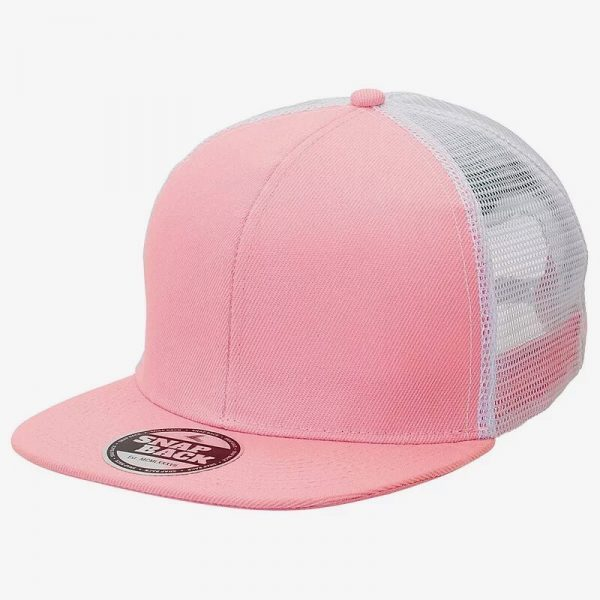 Snapback Trucker 4390 Pink White