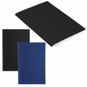 Solid Saddlestitch Bound Journal CAJB1016BK Black Blue