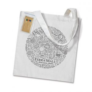 Sonnet Colouring Tote Bag CA113012 White with Image