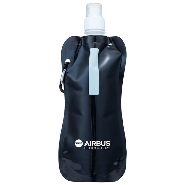 Sorento Collapsible Sports Water Pouches S816 Black