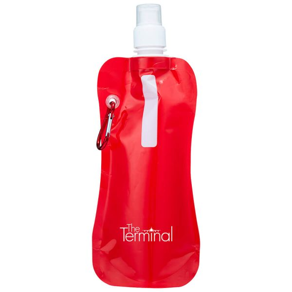 Sorento Collapsible Sports Water Pouches S816 Red