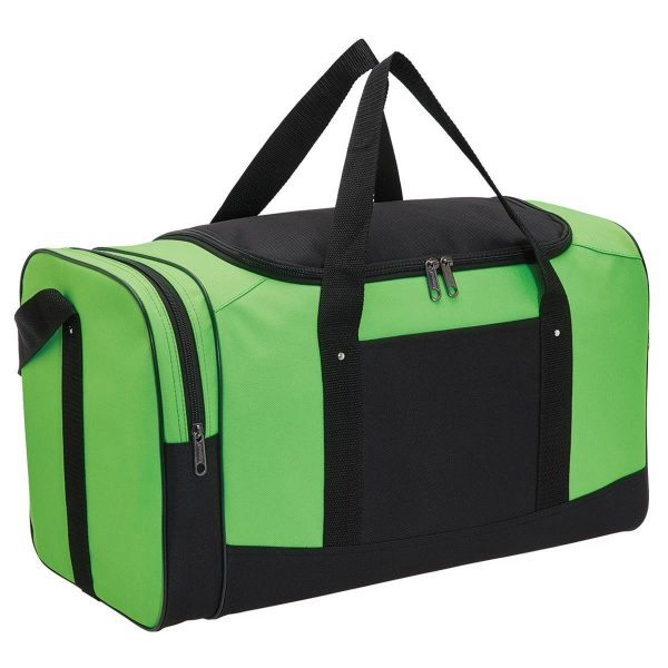 Spark Sports Bag 1222 Black Lime Green