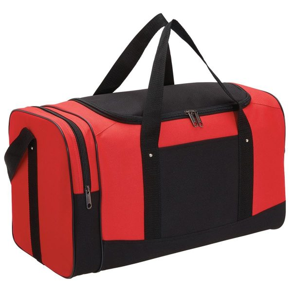 Spark Sports Bag 1222 Black Red