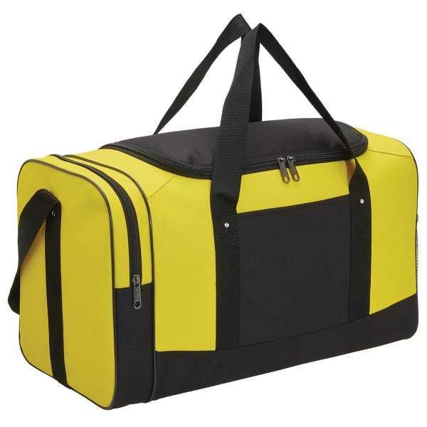 Spark Sports Bag 1222 Black Yellow