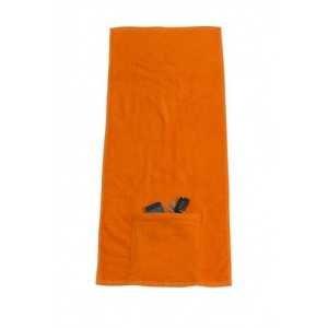 Sports Towel With Zip SP118 Orange