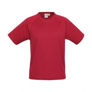 Sprint T Shirts Mens T301MS Red