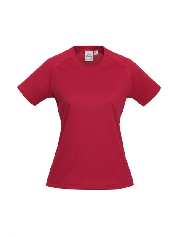 Sprint T Shirts Womans 301LS Red