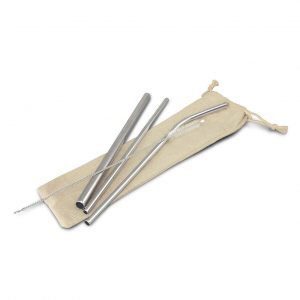 Stainless Steel Straw Set 116751 Stainless Steel
