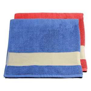 Standard Beach Towel CA4277BL Blue Orange