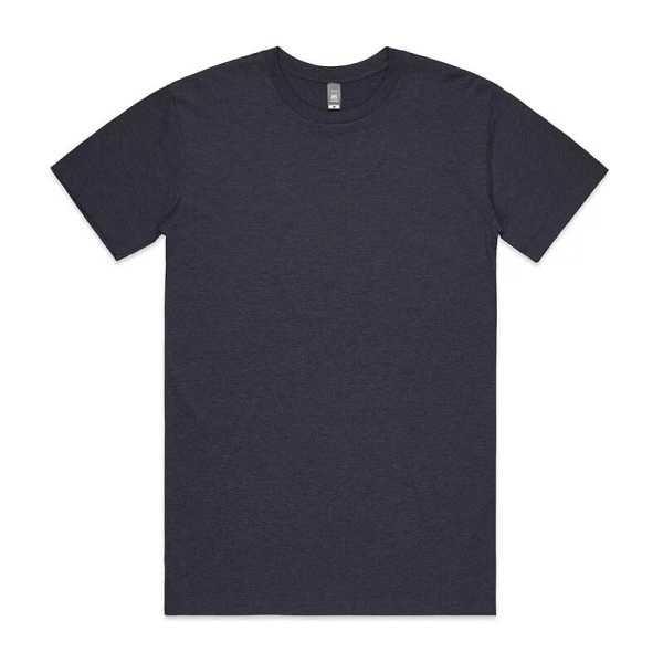 Staple Marle T Shirts Unisex 5001M Blue