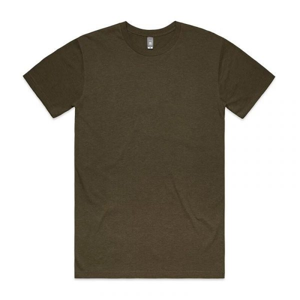 Staple Marle T Shirts Unisex 5001M Green