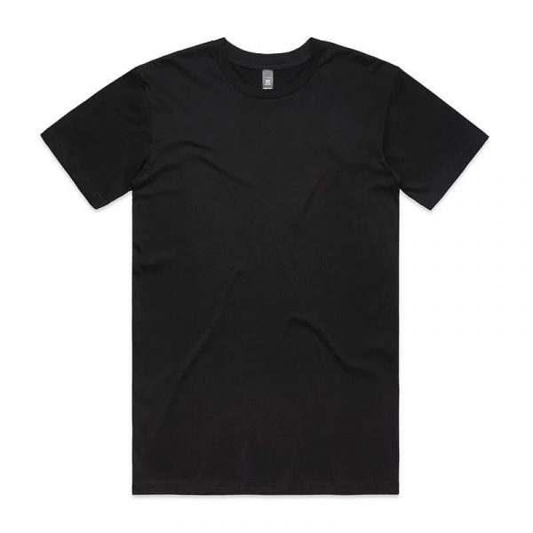 Staple T Shirts Unisex 5001 Black