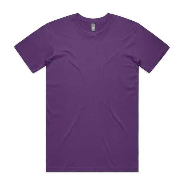 Staple T Shirts Unisex 5001 Purple