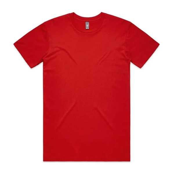 Staple T Shirts Unisex 5001 Red