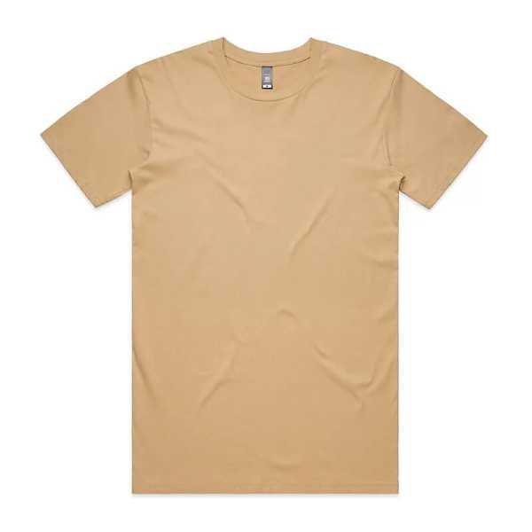Staple T Shirts Unisex 5001 Tan