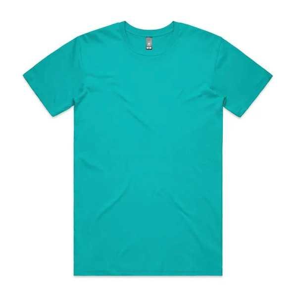 Staple T Shirts Unisex 5001 Teal