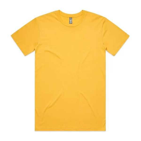 Staple T Shirts Unisex 5001 Yellow
