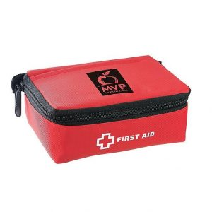 Stay Safe Portable First Aid Kit 24 Piece 1365RD Red
