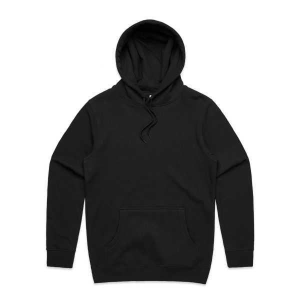 Stencil Hood Black