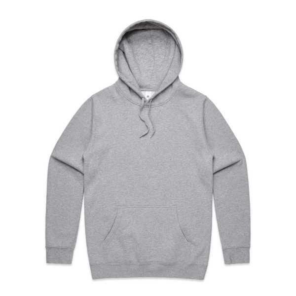 Stencil Hood Grey Marle