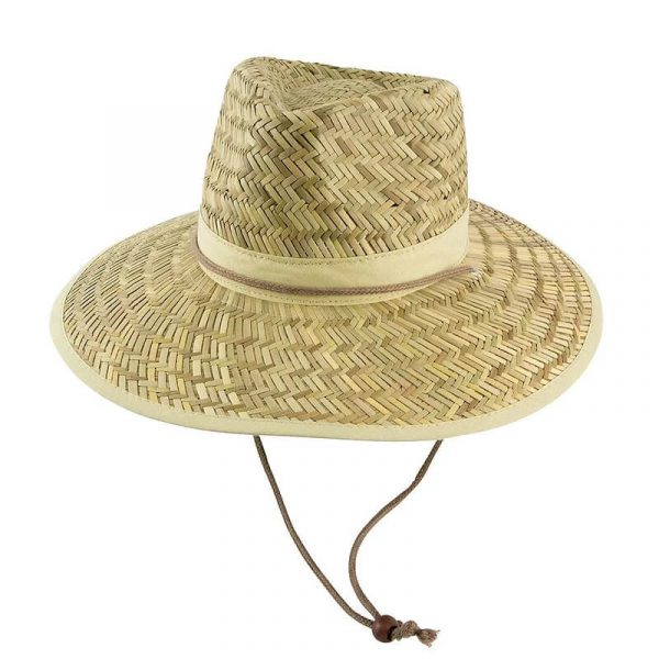 Straw Hat With Rope Toggle 3942A