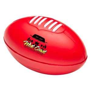 Stress AFL Ball CAT775 Red