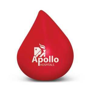 Stress Blood Drop CA110802 Red