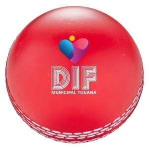 Stress Cricket Ball CAT779 Red