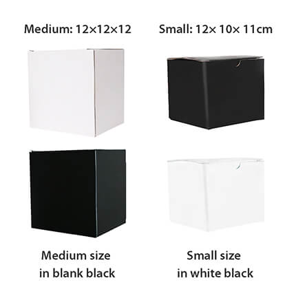 Sublimation Printed Can Ceramic Coffee Mugs Gift Boxes White and Black
