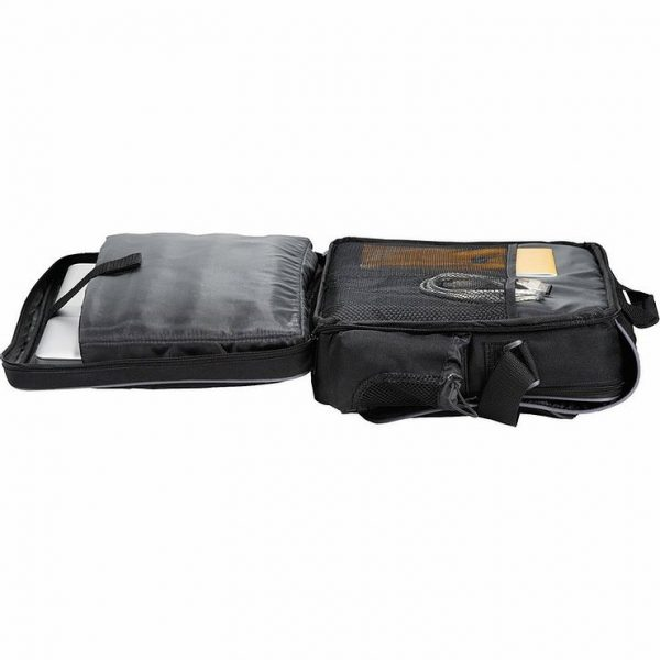 Summit Checkpoint Friendly Compu Case Conference Messenger Satchel 5150BK Black Laptop Sleeve