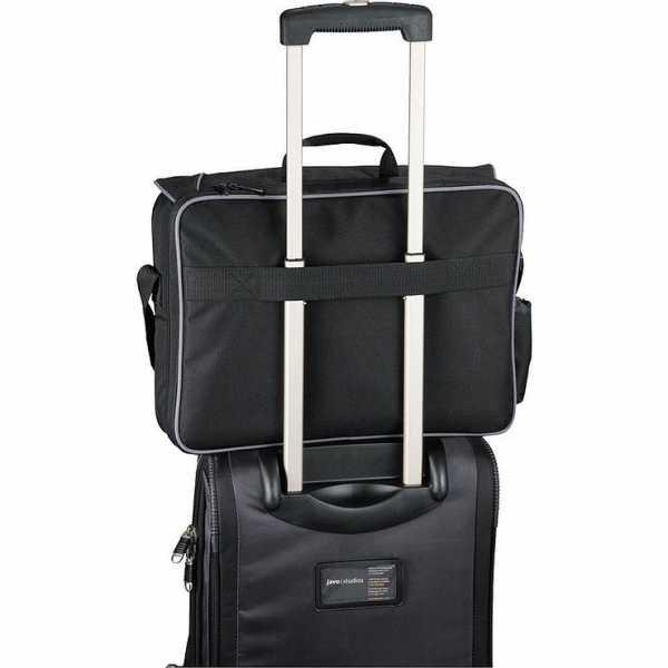 Summit Checkpoint Friendly Compu Case Conference Messenger Satchel 5150BK Black Trolley Sleeve