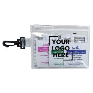 Summit First Aid Kit H673 Clear Pouch