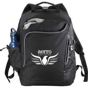 Summit TSA 15 inch Computer Backpack Black 5161BK