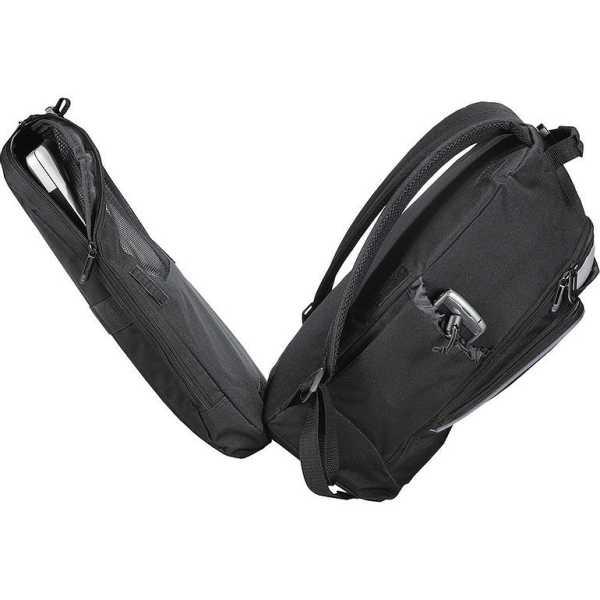 Summit TSA 15 inch Computer Backpack Black 5161BK Laptop Sleeve