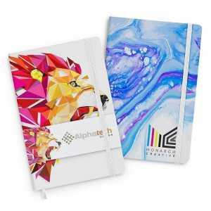 Supra Full Colour Notebook 118183 White with Full Colour Branding